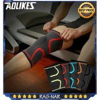 Aolikes Knee Pad Braces Elastis Nylon Sport Pelindung Lutut Knee Pad