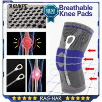 Aolikes 7721 Knee Sleeve Compression Knee Pad Pelindung Lutut Deker