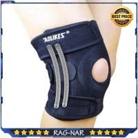 AOLIKES Knee Pad With 4 Spring Knee Patella Brace Support Kaki/Lutut