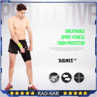 AOLIKES 7957 Thigh Guard Protector Paha Knee Pad Support Deker Paha