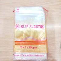 Plastik Klip 7x10 isi 100pcs