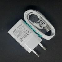 Charger Samsung A20 A30 A50 A70 Fast Charging Original Type C - Putih