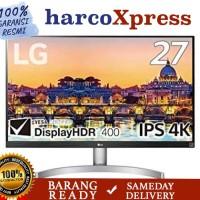 Monitor LED LG 27UL600 /27UL600-W 4K IPS HDR UHD 27 pengganti 27uk600