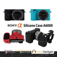 Silicone Case Sony A6000 Rubber Karet Silicon Skin Mirrorless