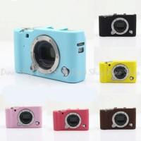 Fujifilm Mirrorless X-A3 XA3 Silicone Case Sarung Silicon Kamera