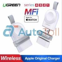 UGREEN USB Apple Watch Magnetic Charging Dock MFi - CD144 - Putih akse
