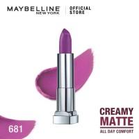 Maybelline Color Sensational Creamy Mattes Lipstick - Vibrant Violet
