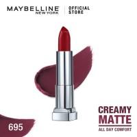 Maybelline Color Sensational Creamy Mattes Lipstick - Divine Wine
