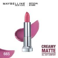 Maybelline Color Sensational Creamy Mattes Lipstick - Lust For Blush