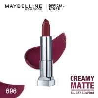 Maybelline Color Sensational Creamy Mattes Lipstick - Burgundy Blush