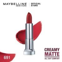 Maybelline Color Sensational Creamy Mattes Lipstick Rich Ruby