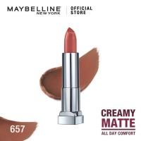 Maybelline Color Sensational Creamy Mattes Lipstick Nude Nuance