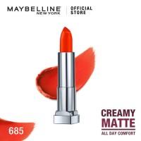 Maybelline Color Sensational Creamy Mattes Lipstick - Craving Coral