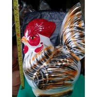 Celengan Ayam Tanah Liat B