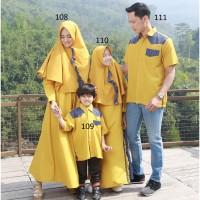 Busana Muslim Gafash - Baju Sarimbit Couple Keluarga - Family Set