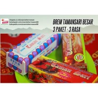 Paket 3 Brem Jumbo TAMANSARI asli Madiun - Jatim (ekonomis isi 15 pcs)