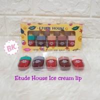 ICE CREAM - Etude House Box 5in1 Dear Darling Tint Es Krim Gel Lip Set