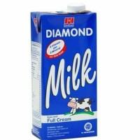 susu UHT Diamond 1liter Full Cream Plain