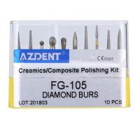Dental Set Diamond Burs / Composite Polishing Kit