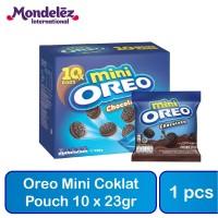 Oreo Mini Coklat Pouch 10x23gr
