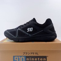 Sepatu Running/Lari Nineten Agito All Black A1906022800 Original BNIB
