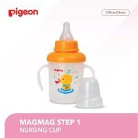 Pigeon MagMag Training Nipple Cup (Step 1) - Cangkir Minum Anak Dengan