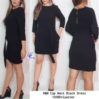 H&M Black dress brand murah