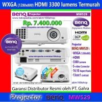 NEW BenQ MW529 Proyektor WXGA HDMI 3300Lm DLP Projector MW-529 MW 529