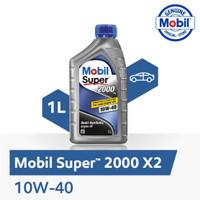 Oli Mesin - Mobil Super 2000 X2 10W-40 (1 liter)