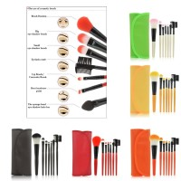 SET MINI MAKE UP BRUSH 7 IN 1 / BY MAKE UP FOR YOU TRAVEL SIZE