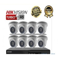 PAKET CCTV HIKVISION 2MP 8 CHANNEL HDD 1TB