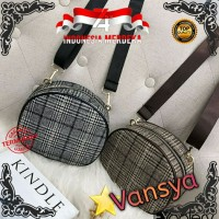 TAS OVAL MINI BAG IMPORT TAS SELEMPANG TAS FASHION