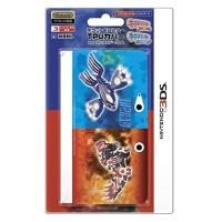 HORI Pokemon TPU Cover for Nintendo 3DS (Genshi Groudon Genshi Kyogre)