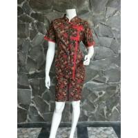 Setelan Batik Pendek RnB Wanita Malika