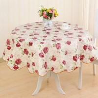 Taplak meja makan 4 kursi ready bulat dan persegi
