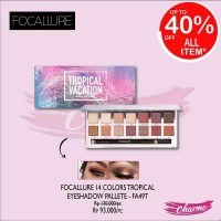 (READY JKT!) Focallure 14 Colors Tropical Eyeshadow Pallete FA49T