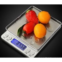 Timbangan Dapur Mini digital Tray Platform kitchen scale akurasi 0.1gr
