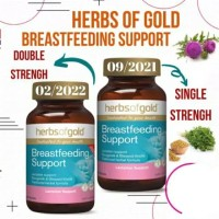 ASI booster NEW Herbs of Gold/breastfeeding support repack 30capsules