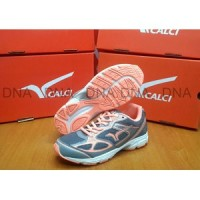 Sepatu Running Calci Dallas Woman Grey S. Orange - ORIGINAL