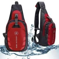 Tas selempang anti air / crossbody bag outdoor import