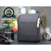 BAG/TAS MIRRORLESS CAMERA FOR CANON, NIKON, SONY, FUJIFILM MIRRORLESS - Biru