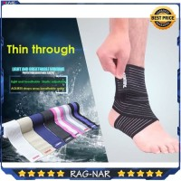 AOLIKES 70CM Elastis Kneepad Knee Pad Brace Ankle Support Bandage