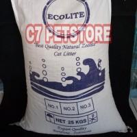 Pasir kucing zeolite Ecolite 30kg