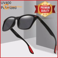 NEW Kacamata Hitam UV400 Driver Goggles Polarized Pria Wanita LOOQQS