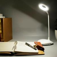 Lampu LED Meja Belajar 004 / Lampu White Portable / Desk Lamp
