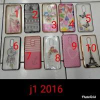 casing case silikon chrome gambar samsung j1 2016