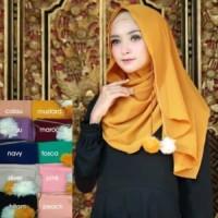 PROMO JILBAB MURAH OBRAL KERUDUNG / Hijab Instan Pompom