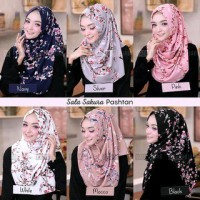 PROMO JILBAB MURAH OBRAL KERUDUNG / Hijab Pashmina Instant Sala Sakura
