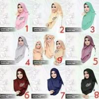 PROMO JILBAB MURAH OBRAL KERUDUNG / Hijab Instan 2 Faces