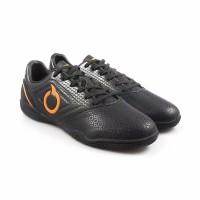 Sepatu Futsal Ortuseight Genesis Black Ortrange